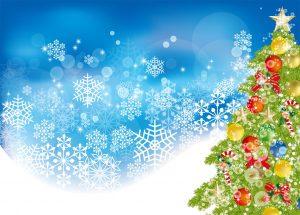 クリスマスツリー&雪7