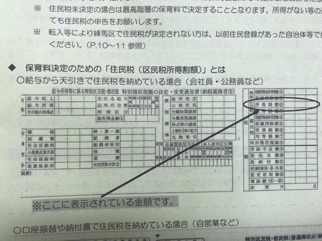 練馬区保育料の計算-1
