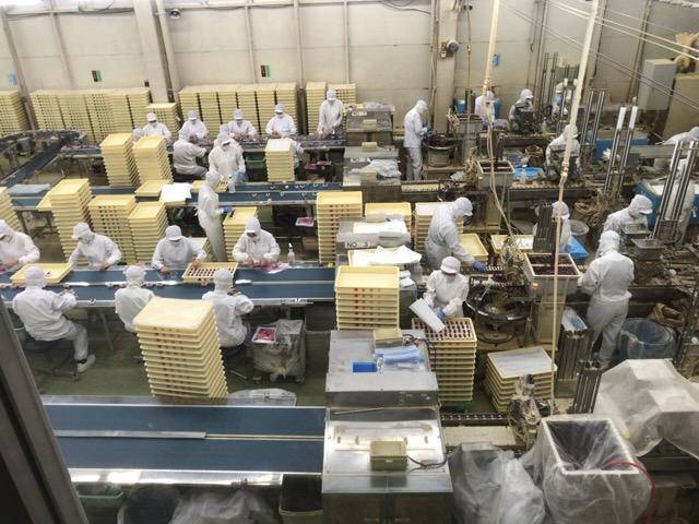 桔梗屋信玄餅工場-11